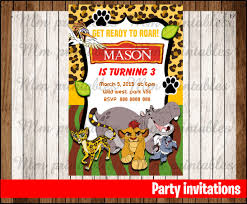 if i print myself sale the lion guard birthday party lion guard