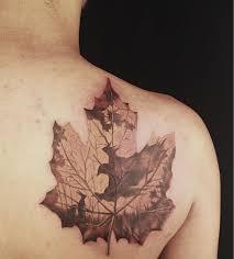 maple leaf tattoo meaning 6 maple leaf tattoo designs and ideas