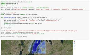 Python Map Function Python Map Background With Datashader
