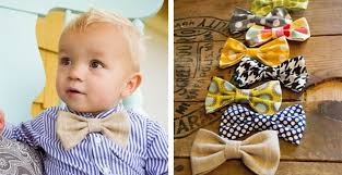 boy bow ties or hair bows