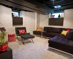 basement concrete wall ideas painted concrete walls ideas pictures