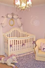 Chandeliers For Girls Rooms Love Laughter U0026 Decor European Toile And Lavender Nursery
