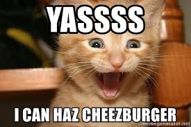 Yassss Meme - yassss i can haz cheezburger very happy kitteh meme generator