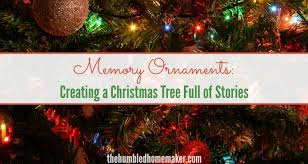 our christmas ornament memory ornaments creating a christmas tree of stories
