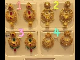 chandbali earrings gold chandbali earring designs with weight