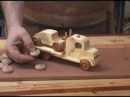 Homemade Wooden Toy Trucks by 2x4 Toy Truck And Car Scroll Saw Project Youtube