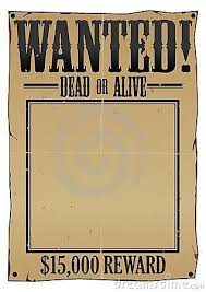 wanted template poster 29 free wanted poster templates fbi and