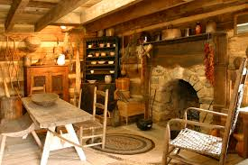arched stone fireplace in an old log cabin handmade houses