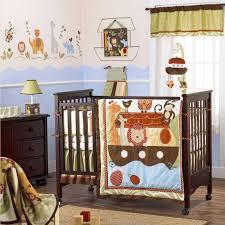 Noah S Ark Crib Bedding Noah Friends 6 Baby Crib Bedding Set By Cocalo Image