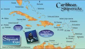 florida shipwrecks map the caribbean shipwreck expo directory capt berg s guide to