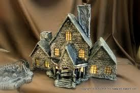 miniature villages stolloween