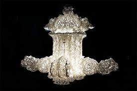 Chandelier New York David Nosanchuk Models 3d Printed Pendant Lamp After Architectural