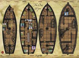 pirate ship deck plans imgtagram ships pinterest pirate
