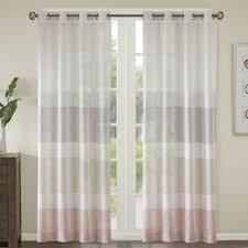 Yellow Stripe Curtains Striped Curtains Drapes You Ll Wayfair