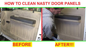 Car Upholstery Cleaner Near Me How To Clean Super Dirty Door Panels And Interior Plastic Great