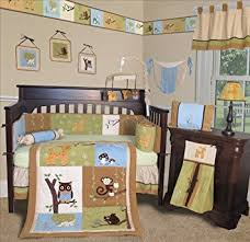 Forest Bedding Sets Sisi Baby Bedding Forest Friends 13 Pcs Crib