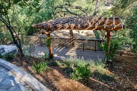 Landscaping Ideas For Hillside Backyard Landscaping A Hillside In The Backyard Of Modern Contemporary