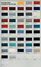 ford color chart ebay