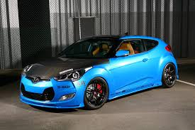 hyundai veloster turbo matte black konig deception wheels matte black with ball cut machined