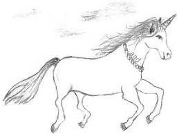 fantasy drawings of horses