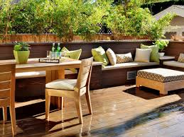 Backyard Dining by Exterior Ballard Designs Outdoor Dining Table The Fresh Scenery