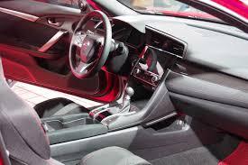 honda civic 2017 type r interior 2017 honda civic si debuts at 2016 l a auto show autoguide com news