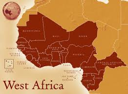 Labeled Africa Map by Maps West African Civilization In The Medieval Era