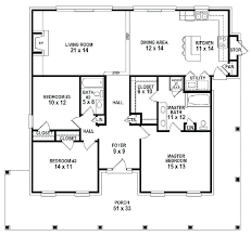 single open floor plans 4 bedroom open house plans bedroom single open floor plans