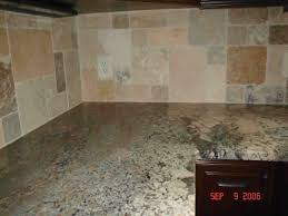 Kitchen Stone Backsplash by Natural Stone Backsplash Kitchen Voluptuo Us