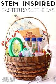 ideas for easter baskets for adults stem easter basket ideas for kids science activities