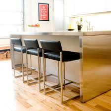 Counter Chairs Give A Higher View To Your Eyes While Sitting On Modern Counter