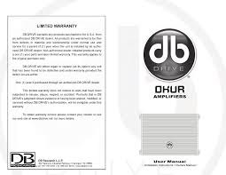 db drive stereo amplifier a6 2800 1d user guide manualsonline com