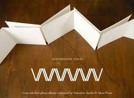 accordion photo album diy tutorial freebie cross stitched photo album ajisai press