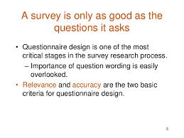 design criteria questions questionnaire design admin
