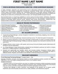 Hotel General Manager Resume Samples by Sweet Idea Purchasing Manager Resume 1 Purchase Resume Job
