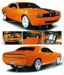 Dodge Challenger Concept - 2005 dodge challenger concept diecast model legacy motors