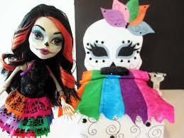 monster high skelita halloween costume how to make a skelita calaveras doll bed tutorial monster high