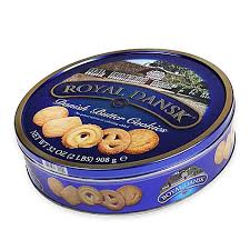 royal dansk 32 oz butter cookies tin bed bath beyond