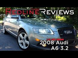 2008 audi a6 4 2 review 2008 audi a6 3 2 review walkaround exhaust test drive