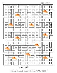 printable thanksgiving mazes coloring pages