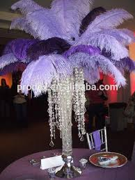 ostrich feather centerpieces pin by s on centerpieces wedding candelabra