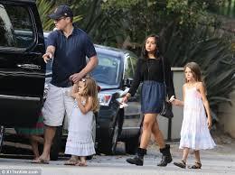 matt damon s house boston matt damon and family head to chris hemsworth and elsa pataky s baby