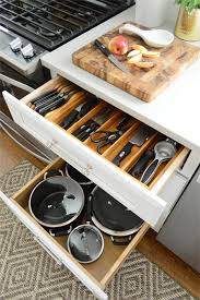 Kitchen Cabinet Organizer How We Organized Our Kitchen Cabinets U0026 Drawers A Video Tour
