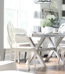 Better Homes And Gardens Dining Table Painted Farmhouse Table X Base Refresh Restyle