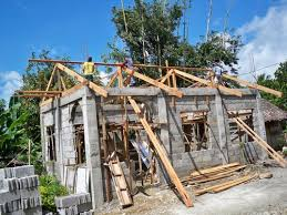how to build a concrete block house building a concrete block house part 5 philippines
