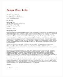 sample graphic design cover letter letters font