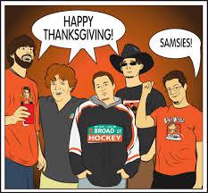 happy thanksgiving from broad hockey broad hockey