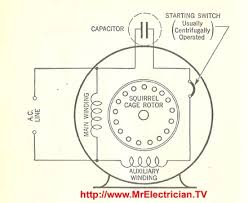 electric motor wiring diagram capacitor wiring diagram and