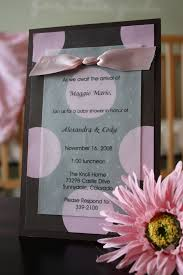 photo homemade baby shower invitations image