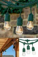 Plastic Globe String Lights Plug In Electric Plastic 10 11 Outdoor Lighting Ebay